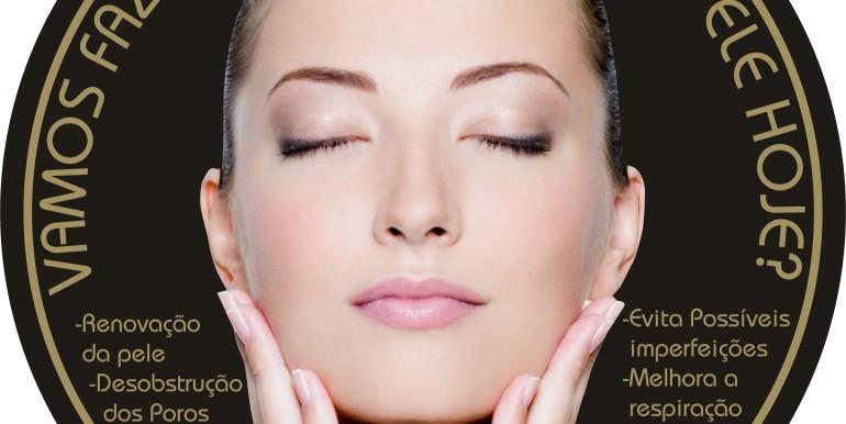 VINIL estética promoção limpeza rosto