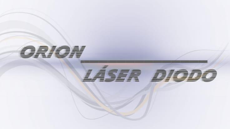 orion laser diodo Sapphire