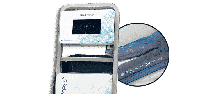 Kiesspress24 pantalla digital botas presoterapia